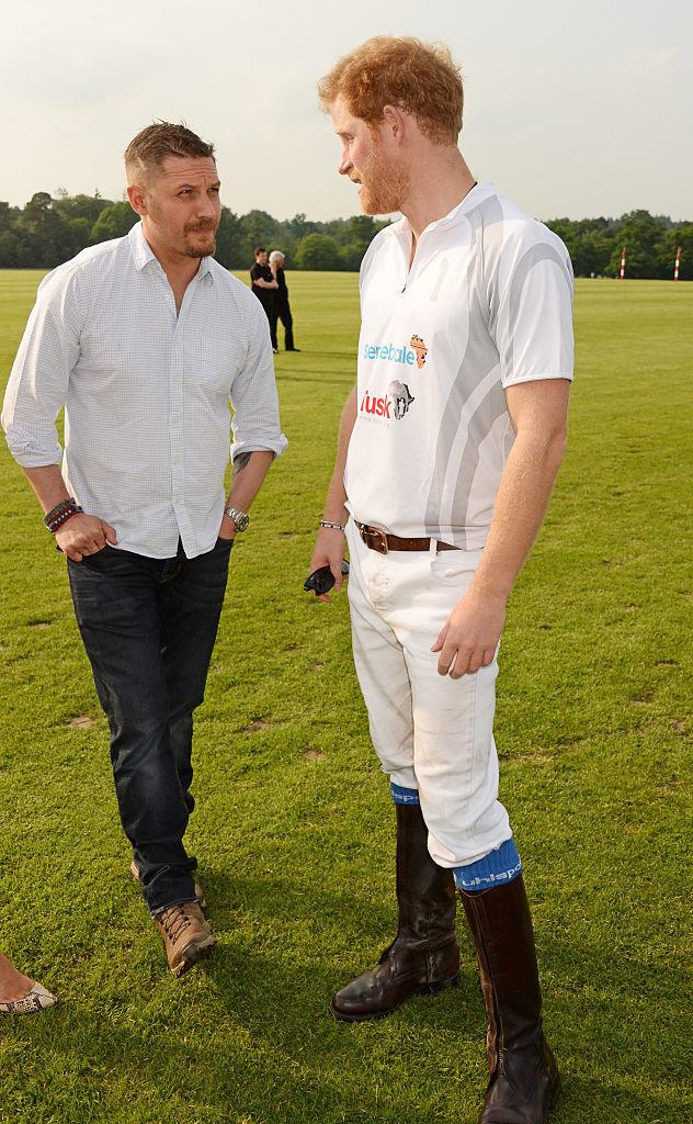 Том Харди и принц Гарри. Фото: Getty