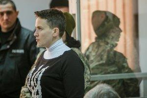 Суд отказался отпустить Савченко на поруки
