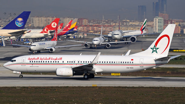 Два самолета столкнулись вСтамбуле