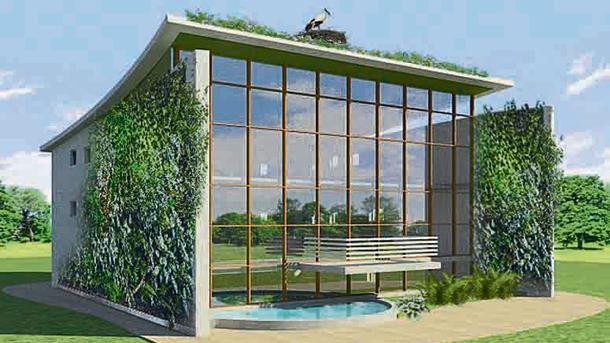Проект. На возведение экологичного жилья выдели 1 млрд грн. Фото: oblrada.dp.ua
