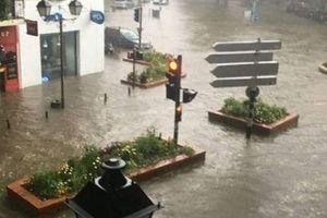 Масштабное наводнение во Франции: началась эвакуация людей