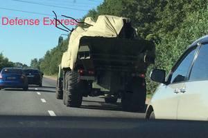 """В сети появились первые фото новой украинской САУ """"Богдана"""""""