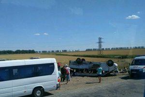 Страшное ДТП с маршруткой в Запорожской области: появились первые фото и видео