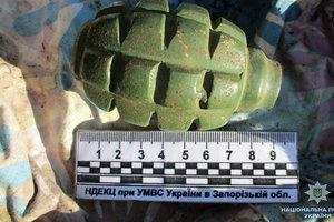 Возле Запорожской АЭС задержали гражданина РФ с гранатой: опубликованы фото