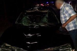 В Харькове легковушка насмерть сбила мужчину, водитель сбежал