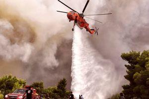 На острове в Греции горят леса: эвакуированы два поселения