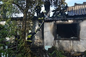 У Дніпрі в приватному будинку згоріло двоє людей