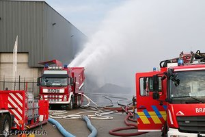 У Бельгійському порту сталася пожежа на складі хімікатів