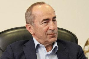 Суд отпустил из-под стражи экс-президента Армении