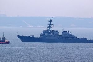 Есмінець ВМС США Carney. Фото: port.odessa.ua