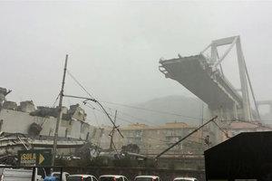 Обрушение моста в Генуе: появились новые подробности
