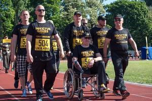 Украинские ветераны продолжают подготовку к Играм непокоренных