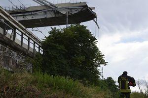 Обрушение моста в Генуе: количество погибших возросло до 30 человек