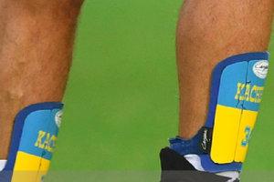 Евгений Хачериди потроллил болельщиков в Москве, показав им флаг Украины