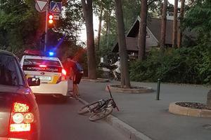 Харьковские копы сбили велосипедиста: соцсети бурлят