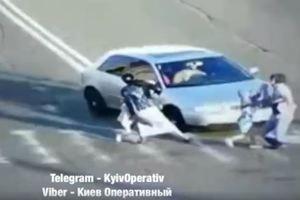 На Троещине машина сбила мужчину на переходе: новые подробности