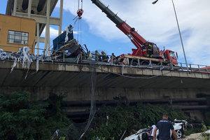 Падали с высоты десятков метров: стала известна судьба пострадавших в Генуе украинцев