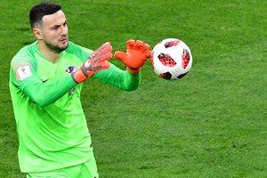 Основной вратарь сборной Хорватии завершил международную карьеру