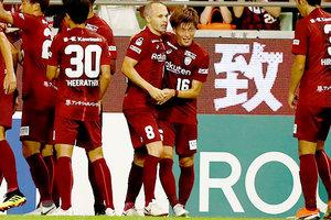 Иньеста забил второй гол в Японии за неделю, и снова - шедевр