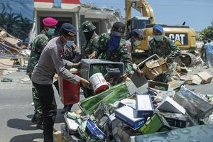 Землетрясение в Индонезии: количество погибших возросло