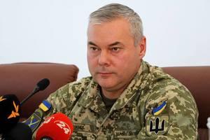 Наев рассказал о выполнении главной задачи Объединенных сил на Донбассе