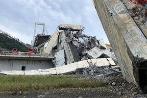 В Еврокомиссии ответили на претензии Италии по обрушению моста в Генуе