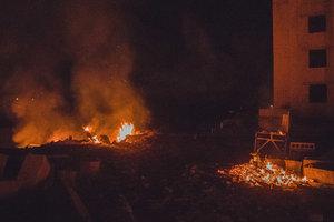 Строительный скандал: под Киевом активисты разгромили стройплощадку высотки
