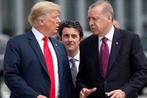 Президенты США и Турции Трамп и Эрдоган. Фото: архив