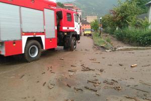 Мощный ливень обрушился на Закарпатье, подтоплено полсотни домов