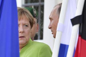 """Меркель напомнила Путину об условии запуска """"Северного потока - 2"""""""