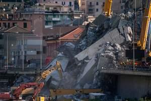 Число жертв обрушения моста в Генуе увеличилось до 43 человек