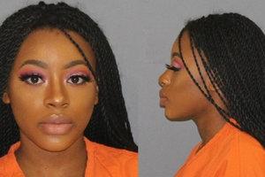 Самая красивая преступница: американка выложила фото из участка и стала звездой