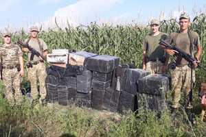 Гонки на тракторе: контрабандист потерял в кукурузе прицеп, набитый сигаретами