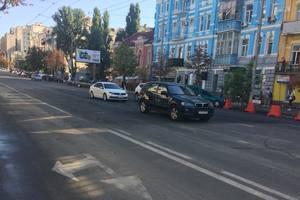 Последствия ливня в Киеве: движение по улице Антоновича восстановлено