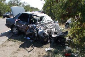 В Запорожской области столкнулись две легковушки: пострадали пять человек