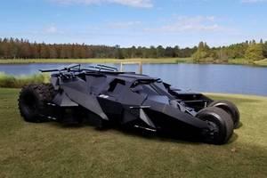 Карбоновый Бэтмобиль продадут за 750 тысяч долларов