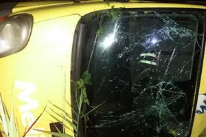 В Николаевской области перевернулся микроавтобус: есть пострадавшие