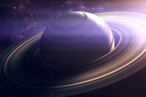 В кольцах Сатурна обнаружили таинственный объект (видео)