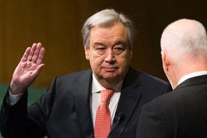 Генсек ООН сделал заявление о восстановлении мира в Украине