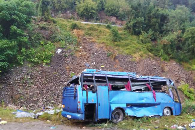 Road accident with a bus in Bulgaria: the Ministry of