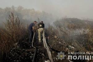 Пожар под Балаклеей: появились новые подробности