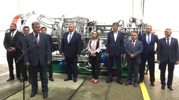 ВНиколаеве новая турбина на32 МВт удачно прошла тестирования,— Порошенко
