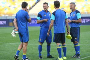 Андрей Шевченко назвал состав сборной Украины на Лигу наций