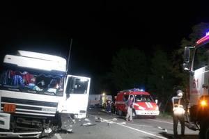 Смертельное ДТП во Львовской области: столкнулись грузовик и легковушка