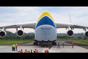 """""""Антонов"""" показал невероятное видео самолета """"Мрия"""" в Южной Америке"""