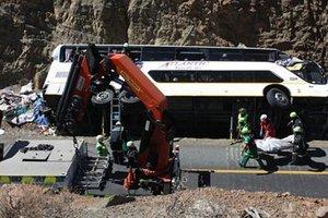 В ЮАР перевернулся автобус: десять человек погибли