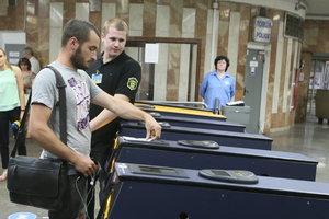 В Киеве сегодня вечером ограничат работу трех станций метро