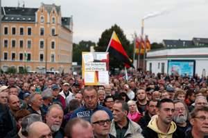 В немецком Хемнице проходит очередная акция протеста