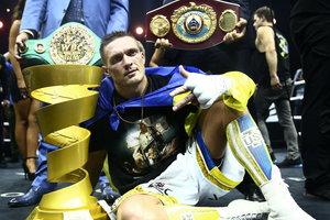 Бой Усик - Белью пройдет в Лондоне - промоутер британского боксера