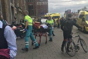 Атака на вокзале в Амстердаме: на прохожих напали с ножом
